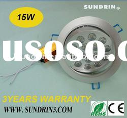 2012 best-selling! 15w dimmable led downlight