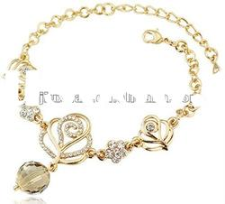 2012 fashion crystal butterfly necklaces jewelry