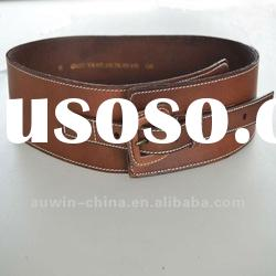 2012 fashion ladies genuine leather fashion waist belt