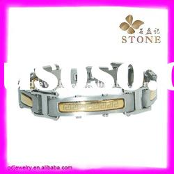 2012 fashion men's bangle and bracelet 316L stainless steel jewelry