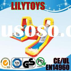 2012 new design PVC inflatable water slide for kids/inflatable water toys/inflatable games