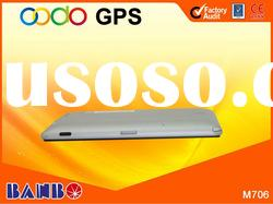2012 new developed 7.0 inch car gps navigation system with AVIN