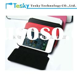 2012 new leather case for iphone 4/iphone 4s/for apple accessories