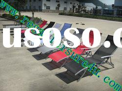 2012 new style outdoor sling sun lounger garden hotel rattan wicker furniture