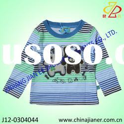 2012 newest style baby boy t-shirt