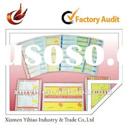 2012 promotional self adhesive paper label for printing
