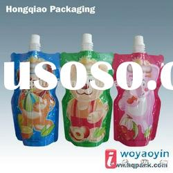 2012 stand up pouch bag with spout /suction nozzle packing Yoghurt/butter milk
