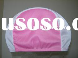 2012 the cheapest wholesale fashional polyester swim cap