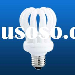20W/23W/25W lotus light bulb compact fluorescent lamp energy saving lamp