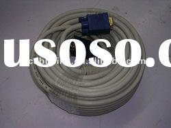 20mts Super VGA male to male cord cable in white color