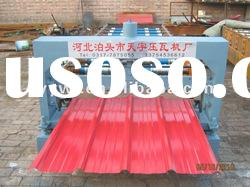 21-215-860 Automatic color steel roof roll forming machine