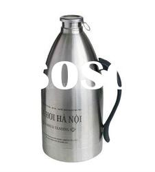 2.0 L beer bottle, beer kegs, beer bottle in stainless steel, double layer