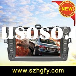 2 Din 8 Inch Car DVD Player for Toyota Corolla Body Parts