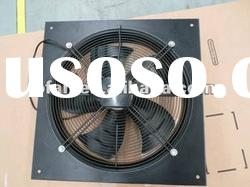 300mm AC axial fan for ventilation with square plate