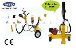 32Ton Gas hydraulic 110cm log length horizontal and vertical 4 way log splitter