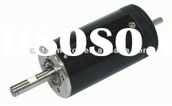 32mm brushless double shaft electric motor for industrial equipment and more