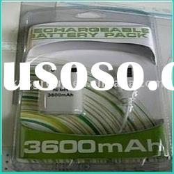 3600mah Rechargeable battery pack for xbox360
