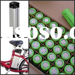 36V10Ah Lithium ion Batteries Pack rechargeable for electric bicycles