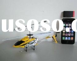 3 CHANNEL RADIO CONTROL iPHONE CONTROL HELICOPTER WITH GYRO