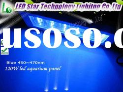400(L)x212(W)x62(H)mm penetration for coral reef fish tank high power 120w led aquarium light