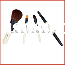 4Pcs professional cheap pink makeup brush set