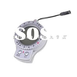 4 In 1 Digital Compass Thermometer Clock Stopwatch