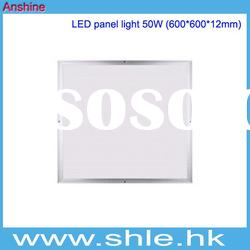 50w 12v 600mm*600mm ultrathin dimmable led super bright ceiling lamp