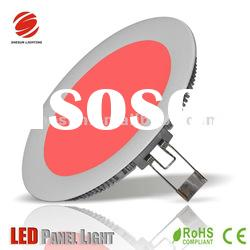 6 inch round color changing led panel light