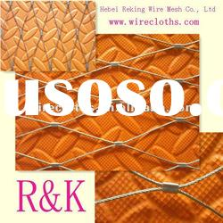 7x7 stainless steel wire rope mesh for Green Solutions