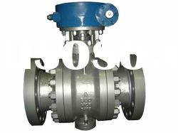 8inch 900# 3-piece cast steel trunnion ball valve