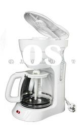 Auto and instant 12 cups home american drip coffee maker/tea maker