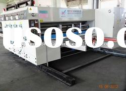 Automatic feeder 3 color printer rotary die cutter slotter machinery (HUAYU-C1324)