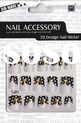 Beautiful 3D Glitter Nail Sticker