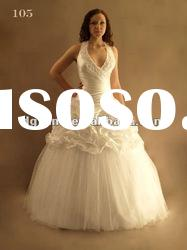 Best Selling Gorgeous Off-Shoulder Ball Gown wedding dress 2012