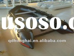 CE HH-S360 inflatable rowing boat with aluminum floor