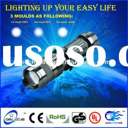 CREE Q5 Smart Mini Zoom led Flashlight Torch