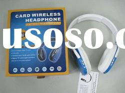 Card Wireless Headphone OEM Headphone