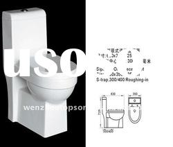 Ceramic Toilet bowl ,Luxury Bathroom siphonic one piece toilet Toilet Seats