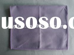 China made plain microfiber suede cleaning cloth