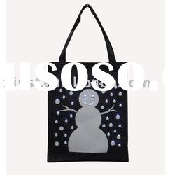 Christmas eco non woven shopping bag