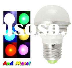 Color Changing LED Light Bulb/LED light lamp with remoto control