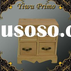 Cute Wooden Jewelry Drawers Chest