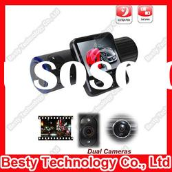 Dual Cameras Car DVR GPS Blackbox DVR-X6000