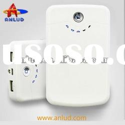 Dual usb output socket universal portable power station 11200mah ALD-P07