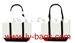 Eco friendly folding canvas bag for shopping