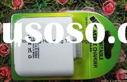 External Mobile Phone Battery Charger With 1900MAH For Iphone 4