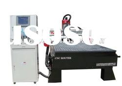 FANCH CNC Router with standard in line 6 tool changes and vacuum table