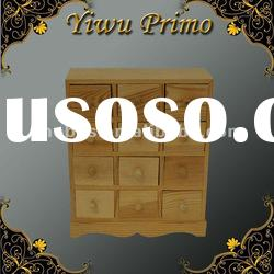 Fancy Wooden Drawers Storage Chest