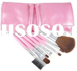 Fashion Leather makeup brush bag
