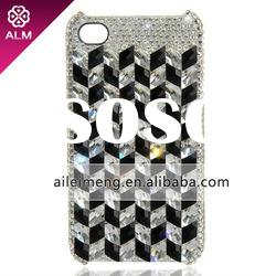 For iPhone 4 Cases With Swarovski Crystal (4G-2483-10)